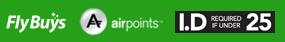 Flybuys, Airpoints & Under 25